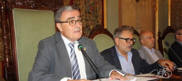 Àngel Ros, batlle de l'Ajuntament de Lleida.