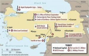 Bases OTAN Turquia