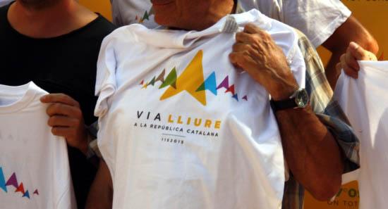 Imatge de la samarreta de la Diada d'enguany