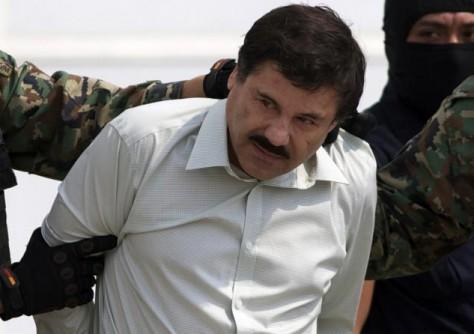 El 'Chapo' Guzmán, en el moment de ser detingut el 2014.