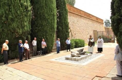 L'última missa, el 2014 (fotografia del Facebook de l'Associació d'Amics del Castell de Montjuïc).