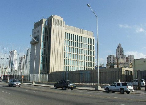 Ambaixada dels EUA a l'Havana (fotografia: Wikipedia).