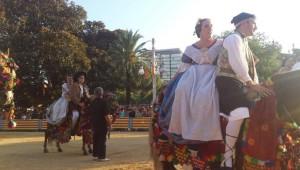 Batalla Flors Fira de Juliol València