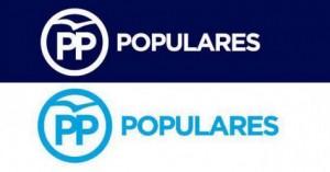 El nou logotip del PP.