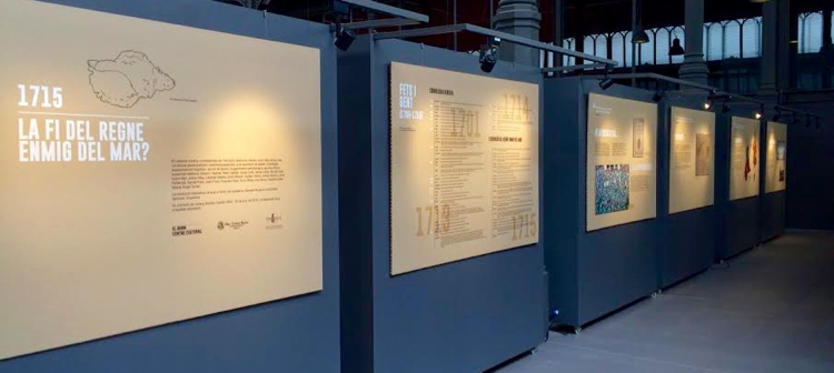 L'exposició comissariada per Bartomeu Mestre al Born Centre Cultural.