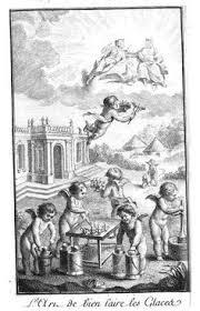 Els gelats, caprici dels déus. 'L'art de bien faire les glaces', 1768.