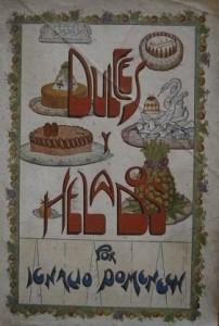 'Dulces y helados' d'Ignasi Domènech, 1925.