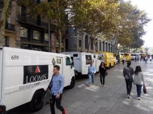 Furgonetes Banc d'Espanya