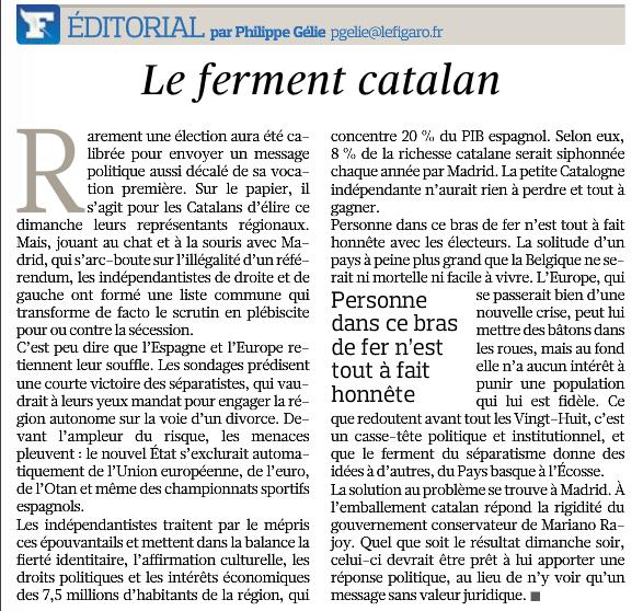 Editorial Le Figaro