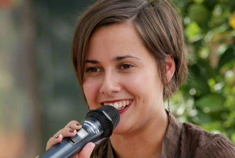 Jenn Díaz aquest setembre, durant la Setmana del Llibre en Català.