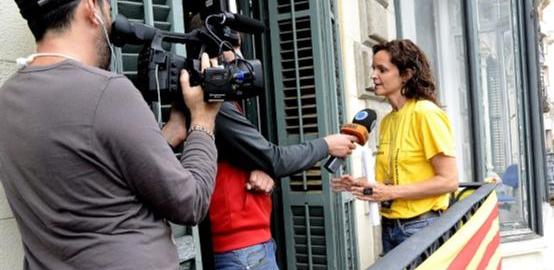 Periodistes internacionals Diada