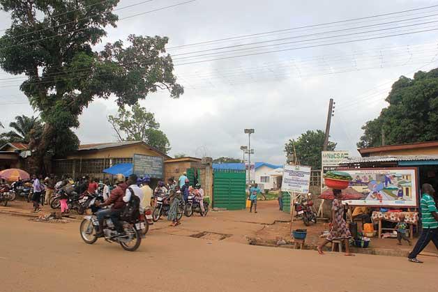 Leashmhar | Centre hospitalari de Kenema, a Sierra Leone, una de les zones afectades pel brot de l'ebola.