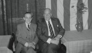 Josep Tarradellas i el general Escofet
