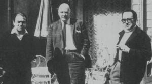 Jordi Pujol, Josep Tarradellas i Josep Fornas
