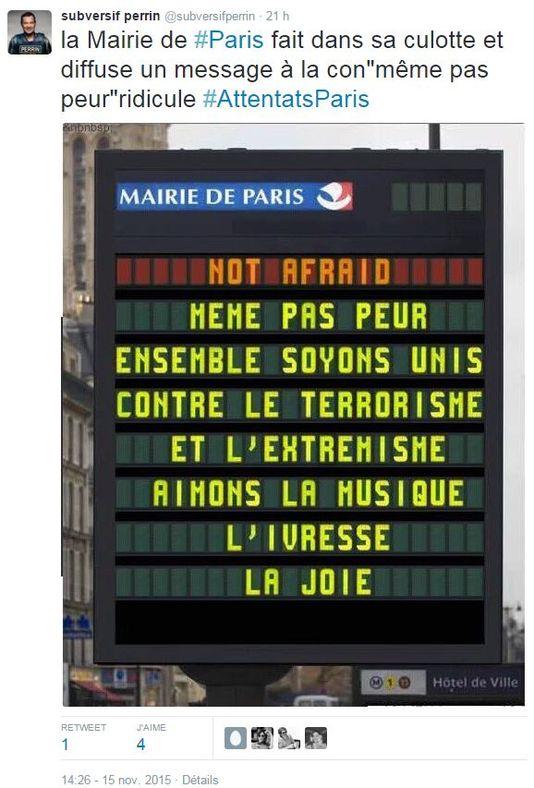 foto falsa París