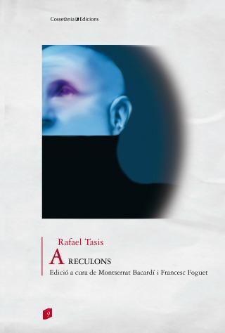 Coberta de 'A reculons' de Rafael Tasis (Cossetània edicions).
