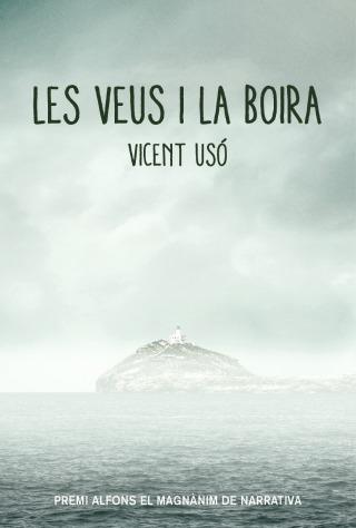 Coberta 'Les veus i la boira' de Vicent Usó (Bromera).