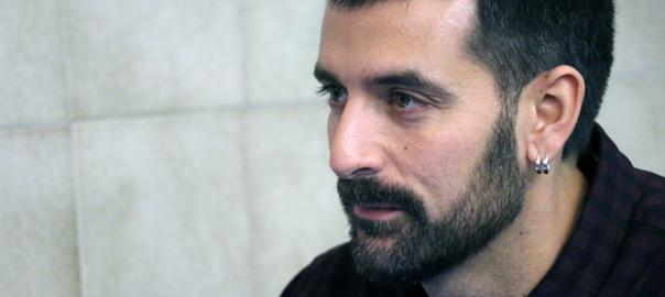 Jordi Borràs, ahir a Barcelona (Foto: Jordi Carreño)