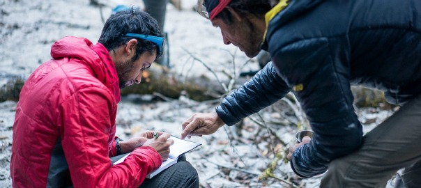 Kilian Jornet i Jordi Tosas, al Nepal aquesta primavera passada.