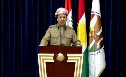 El president Barzani, del Kurdistan iraquià