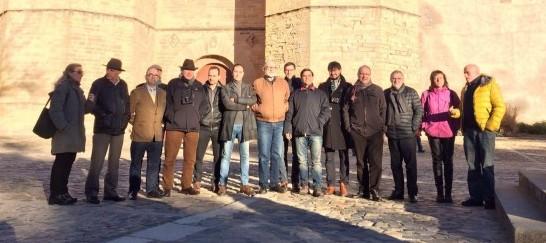 El grup Constituïm, a la reunió que va fer la setmana passada al monestir de Poblet.