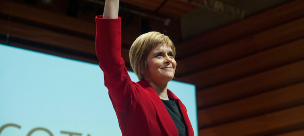 Nicola Sturgeon, primera ministra escocesa.