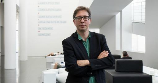 Ferran Barenblit, nou director del MACBA. Foto: Miquel Coll.