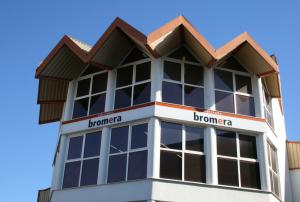 Seu de l'editorial Bromera a la ciutat d'Alzira.