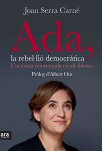 Portada del llibre sobre Ada Colau