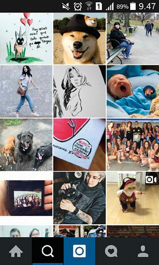 Instagram és una aplicació gratuïta per a iPhone i Android que permet fer fotografies i vídeos molt breus, modificar aquests continguts i compartir-los en les xarxes socials com Facebook, Twitter, Flickr o la mateixa Instagram. Aquesta aplicació va sortir al mercat a l'octubre de 2010 i actualment ja suma més de 400 milions d'usuaris arreu del món. / Mètode
