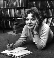 L'escriptora Muriel Spark l'any 1960.