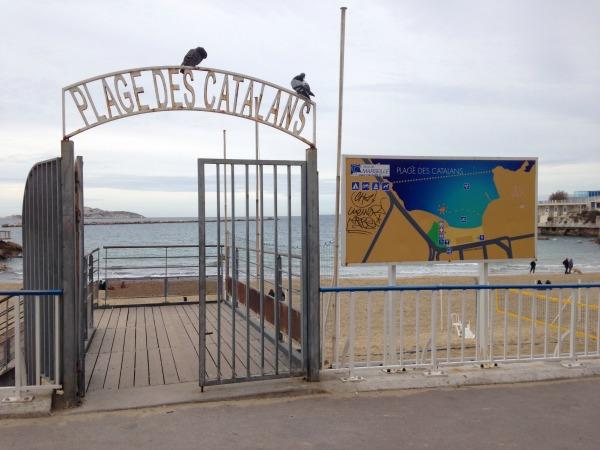 Platja dels Catalans de Marsella (foto: Martí Crespo).