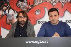Camil Ros (esquerra) i Matías Carnero (dreta)