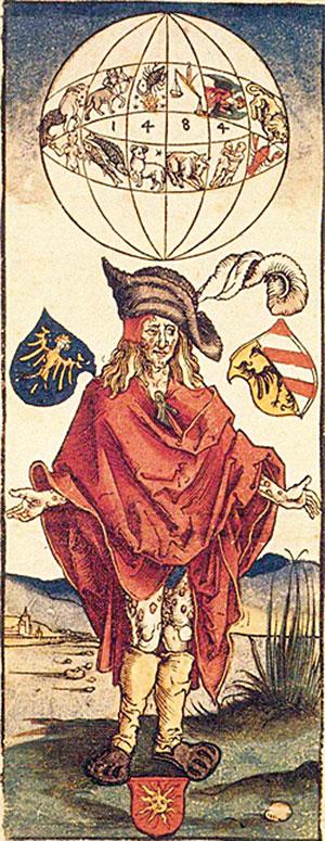 Durant el setge de Nàpols es va produir una gran epidèmia de sífilis que va deixar fora de combat bona part de la soldadesca i que no tardaria a propagar-se per tot el continent. Una vegada finalitzada la campanya, els exèrcits van tornar a les seues llars portant amb ells la malaltia. En la imatge, una il·lustració de 1496 atribuïda a Albrecht Dürer, que representa un malalt de sífilis. / Mètode