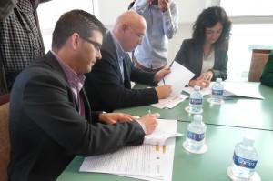 Signatura programa rehabilitació Jorge Rodríguez