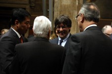 Catalan President, Carles Puigdemont, received the consuls based in Barcelona (by ACN)