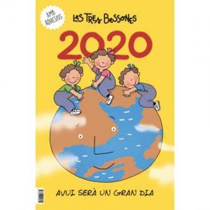 calendari les tres bessones 2020