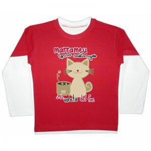 samarreta infantil castanyada
