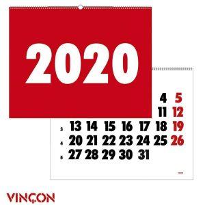 calendari vinçon 2020