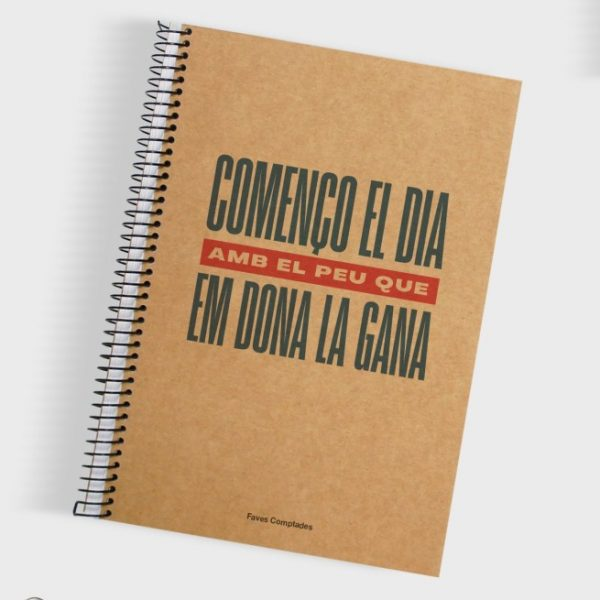 llibreta començo el dia