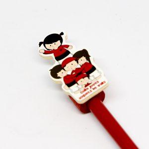 llapis castellers vermells