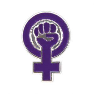 pin feminista