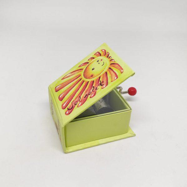 caixa musica sol solet