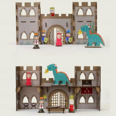 kit de construccio castell medieval