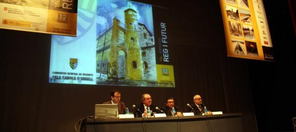 Inauguració XV Jornada Reg i Futur
