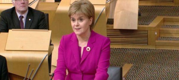 Sturgeon escòcia