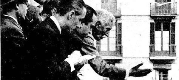 14 d'Abril de 1931. Francesc Macià proclama la República Catalana
