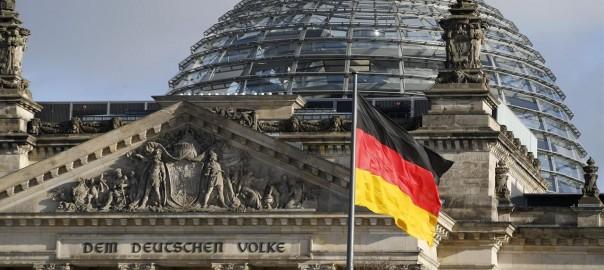 La façana del parlament d'Alemanya
