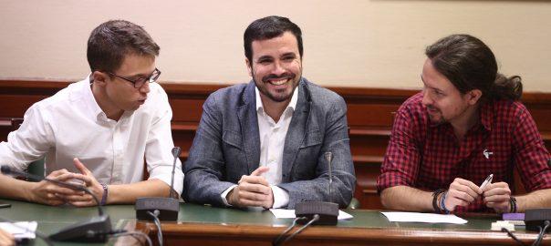 Errejón, Garzón i Pablo