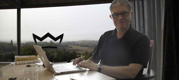 David Manderson. a la residència Faber d'Olot (Foto: Adiva Koenigsberg)